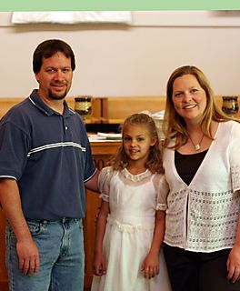 Meagan with her godparents