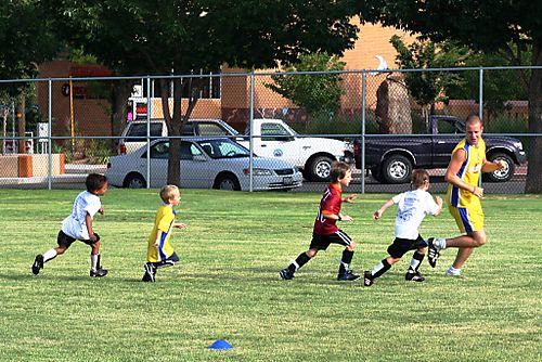 Soccer camp web