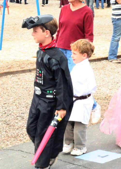 Darth Vader and Luke Skywalker web