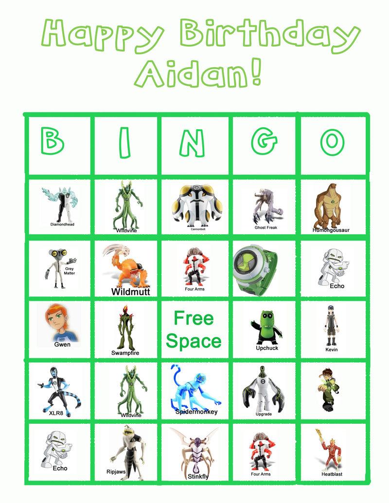 Ben 10 bingo2